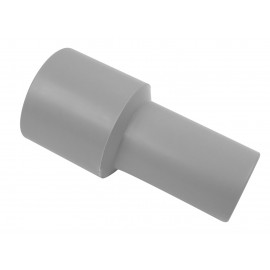 "HOSE END CUFF 1 1/2"" ACC 1 1/4"" GREY"