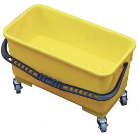 Seau pour tampon humide - 6 gal (20 L) - jaune