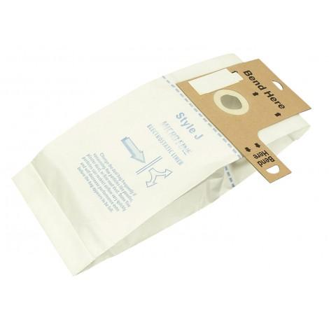 Sac microfiltre pour aspirateur vertical Eureka type J série 2270, 2900-2910 - paquet de 3 sacs - Envirocare 309