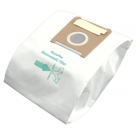 Microfilter Bag for Bosch Type G Vacuum - Pack of 5 Bags - Envirocare 206