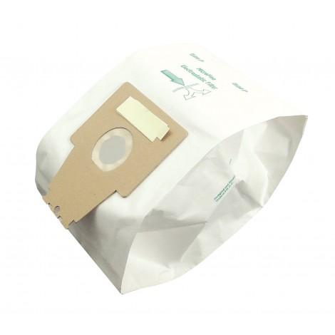 Sac microfiltre pour aspirateur Bosch type P - paquet de 5 sacs - Envirocare 207