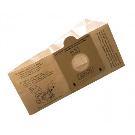 Sac microfiltre pour aspirateur chariot Eureka type T série 970, 980 - paquet de 3 sacs - Envirocare 133