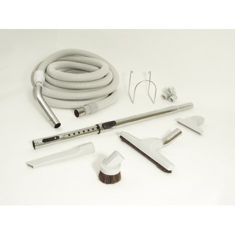Central Vacuum Kit - 30' Hose - with Tools & Accessories - DEMO