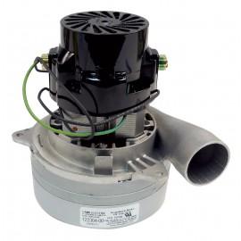 Moteur pour aspirateur tangentiel - 2 ventilateurs - 120 V - Lamb / Ametek - 040099 (remplacement de L11999200)