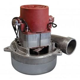 "Tangential Vacuum Motor - 5.7"" dia - 2 Fans - 120 V - 13 A - 1400 W - 470 Airwatts - 104"" Water Lift - 112"" CFM - Domel 491.3.702"