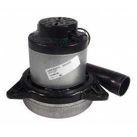 """Tangential Vacuum Motor - 7.2"""" dia - 2 Fans - 120 V - Lamb / Ametek 117467-00 (b)"""