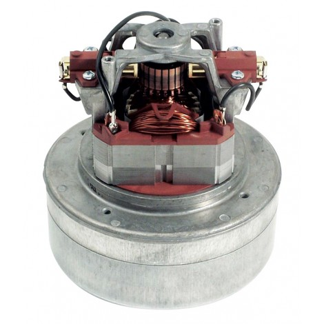 Thru-Flow Motor - 2 Fans Metal 12 A 120 V - Domel 496.3.430-2 TCO - Used