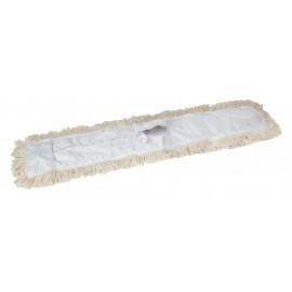 """Vadrouille sèche de remplacement - 48"""" (121,9 cm) - blanc"""