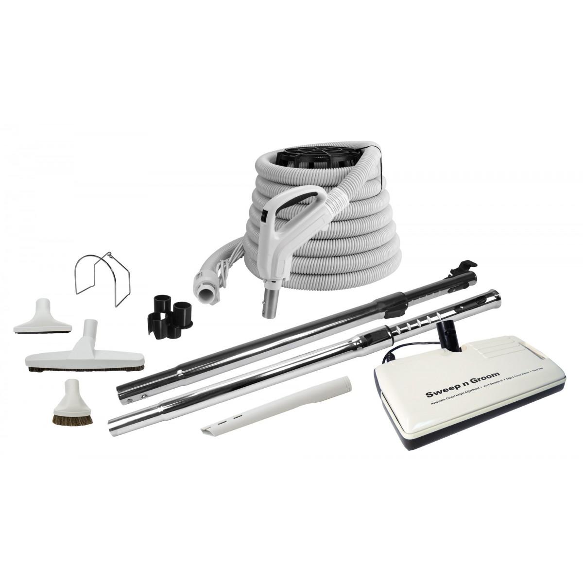 Central Vacuum Kit 30 9 M Electric Hose 12 Quot 30 Cm