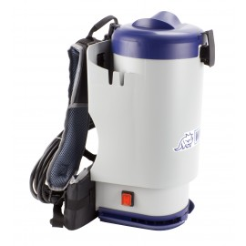 USED: WIRBEL W1 ,12 AMPS BACKPACK VACUUM CLEANER