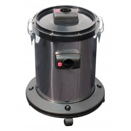 Water Recuperator with Chrome Tank and Swivel Wheels