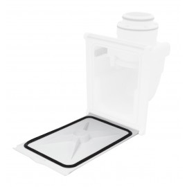 Trapdoor with Sealing Gasket (Box Not Included) - Hide-A-Hose HS4000W-D