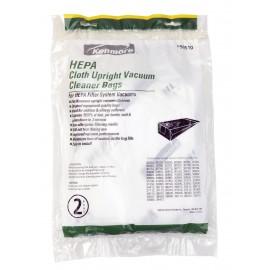 HEPA Cloth Bag for Kenmore Upright Vacuum - Pack of 2 Bags