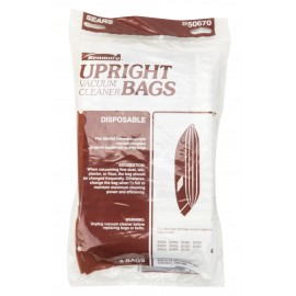Paper Bag for Kenmore Upright Vacuum - Pack of 6 Bags