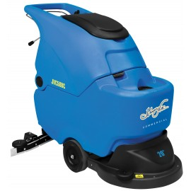 "Scrubber, Johnny Vac JVC50BC 20"" width, batteries and charger"