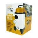 RhinoVac Portable Wet & Dry Shop Vacuum, 35 L (8 gal), Swivel Casters/Wheels, Accessories & Blower - Used