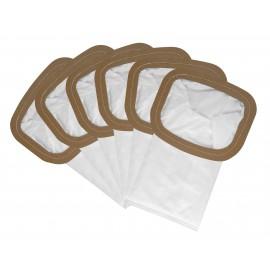 HEPA Microfilter Bag for Back Pack Johnny Vac JVBP6 - Pack of 6 Bags