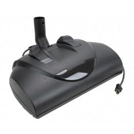 "Power Nozzle - 14"" Width - Adjustable Height - Black - Geared Belt - Metal Roller Brush - Wessel-Werk 13.9.044"