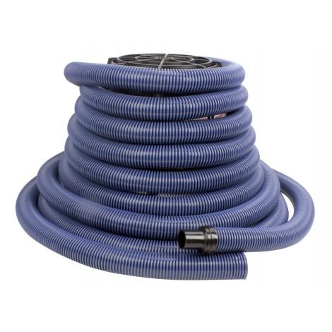 Hose for Central Vacuum - 40' (12 m) - Blue - Rapid Flex - Hide-A-Hose HS402154P