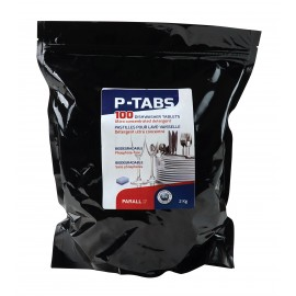 Dishwasher Detergent Tablets Phosphate Free - Ultra Concentrated - Box of 100 - Parall P-TABS