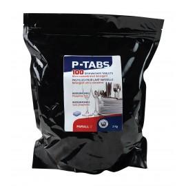 Pastilles ultra concentrées et sans phosphate pour lave-vaisselle - boîte de 100 - Parall P-TABS