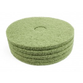 "Floor Machine Pads - for Super Scrub - 18"" (45.7 cm) - Green - Box of 5 - 66261054262"