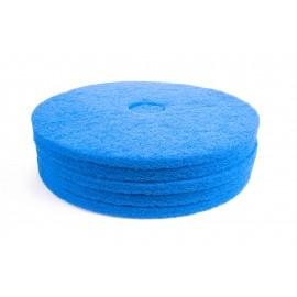 """Tampons pour polisseuse à plancher - pour récurer - 19"""" (45,7 cm) - bleu - boîte de 5 - 66261054246"""