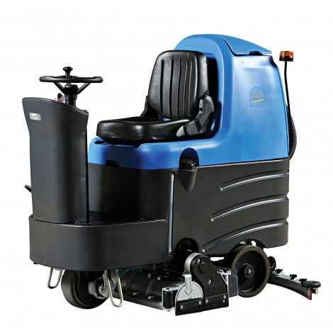 "Rider Scrubber JVC110RRBTN from Johnny Vac - 31 1/2"" (800 mm) Cleaning Path - 3.5 h Average Runtime - Battery & Charger included"