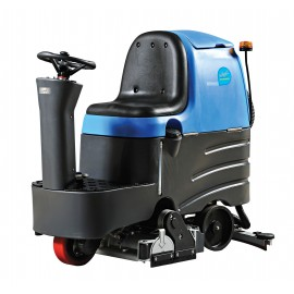 "Rider Scrubber JVC70RRBTN from Johnny Vac - 25 1/2"" (648 mm) Cleaning Path - 3.5 h Average Runtime - Battery & Charger Included"