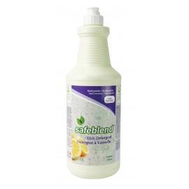 Détergent / Savon à vaisselle - citron - 950 ml (33,4 oz) - Safeblend VCLEFOD