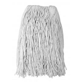 Tête de vadrouille / moppe en coton de rechange - humide pour laver - 20 oz (550 g) - blanche - Select FSS20