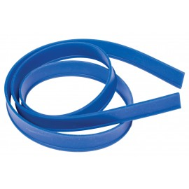 """Rechange de racloir en silicone - 42"""" (106,7 cm) - bleue"""