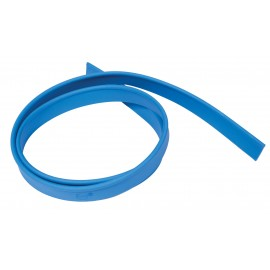"""Rubber Replacement for Floor Squeegee - 42"""" (106.7 cm) - Blue"""