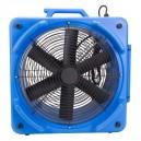 """Industrial Blower / Fan / Floor Dryer - Johnny Vac - Fan Diameter 16.5"""" (41.9 cm) - 2-Speeds - with Wheels - Blue"""