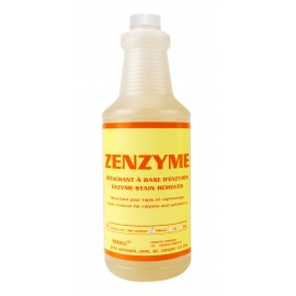 Enzyme Stain Remover - for Carpets and Upholstrery - 33.3 oz (946 ml) - Zenzyme
