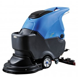 "Autoscrubber with Traction - Johnny Vac JVC56BTN - 22"" (559 mm) Cleaning Path - with Battery and Charger"