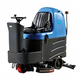 "Rider Scrubber JVC110RIDERN from Johnny Vac - 34"" (864 mm) Cleaning Path - 3.5 h Average Runtime - Battery & Charger included"