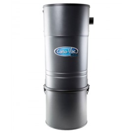Central Vacuum - Canavac - Ethos C725 - 700 Airwatts - 5 gal (19 L) Tank Capacity - Wall Mount Bracket - Microtex Filter - HEPA Bag