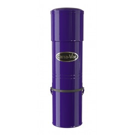 Central Vacuum Canavac - Silent - 600 Airwatts - 5 gal (19 L) Tank Capacity - Wall Mount Bracket - HEPA Bag and Microtex Filter