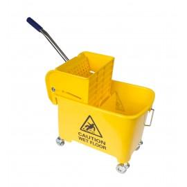 Side Press Wringer Bucket Combo - 5 gal (21 L) - Yellow - Demo