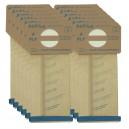 Sac en papier pour aspirateur vertical Electrolux - style U - paquet de 12 sacs
