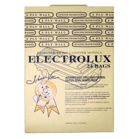 Sac en papier pour aspirateur chariot Electrolux - boîte de 24 sacs - Envirocare 805-24FPJV