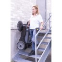 "Manual Floor Sweeper - Johnny Vac - 32"" (81.3 cm) Cleaning Path - 2 Side Brushes - Tank of 10.5 gal (40 L)"