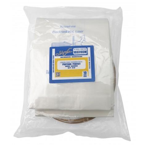 Sac microfiltre pour aspirateur dorsal Proteam / Perfect - paquet de 10 sacs - Envirocare 180