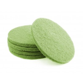"Floor Machine Pads - for Super Scrub - 16"" (40.6 cm) - Green - Box of 5 - 66261054260"