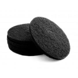 """Tampons pour polisseuse à plancher - pour décaper - 21"""" (53,3 cm) - noir - boîte de 5 - 66261054231"""
