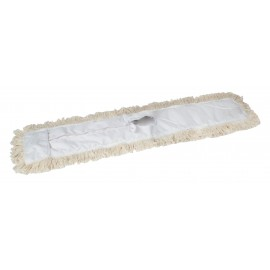 """Vadrouille sèche de remplacement - 24"""" (61 cm) - blanc"""