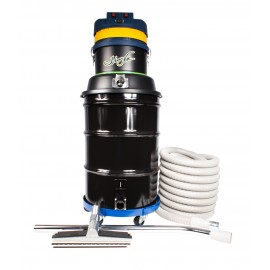 Wet & Dry Commercial Vacuum - Johnny Vac JV45G - Two Motors - Capacity of 45 Gallons (171 L) - with Accessories & Dolly
