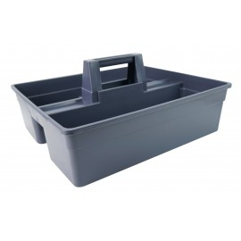 Plastic Caddy for Cleaning Products - Grey