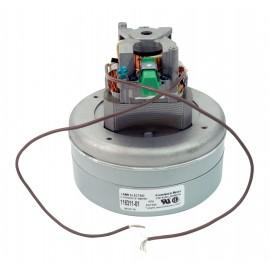 "Thru-Flow Vacuum Motor - 5.7"" dia - 2 Fans - 120 V - 8.3 A - 245 Airwatts - 93.7"" Water Lift - 95 CFM - Lamb / Ametek 116311-01 (B)"
